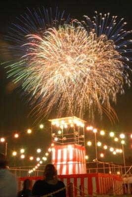 入間基地納涼祭「盆踊りと花火の夕べ」の画像
