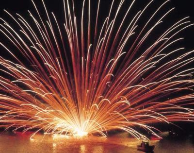 三国花火大会の画像