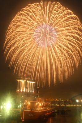 海の日名古屋みなと祭花火大会の画像